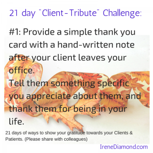 CA#1-Provide a simple thank you card with a-1