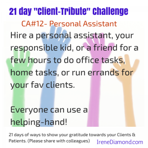 CA#12- Personal assistant