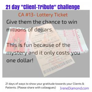 CA#13- Lottery Ticket