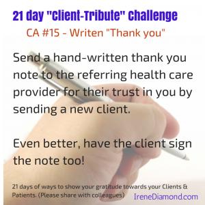 CA#15 - Handwritten Thank you