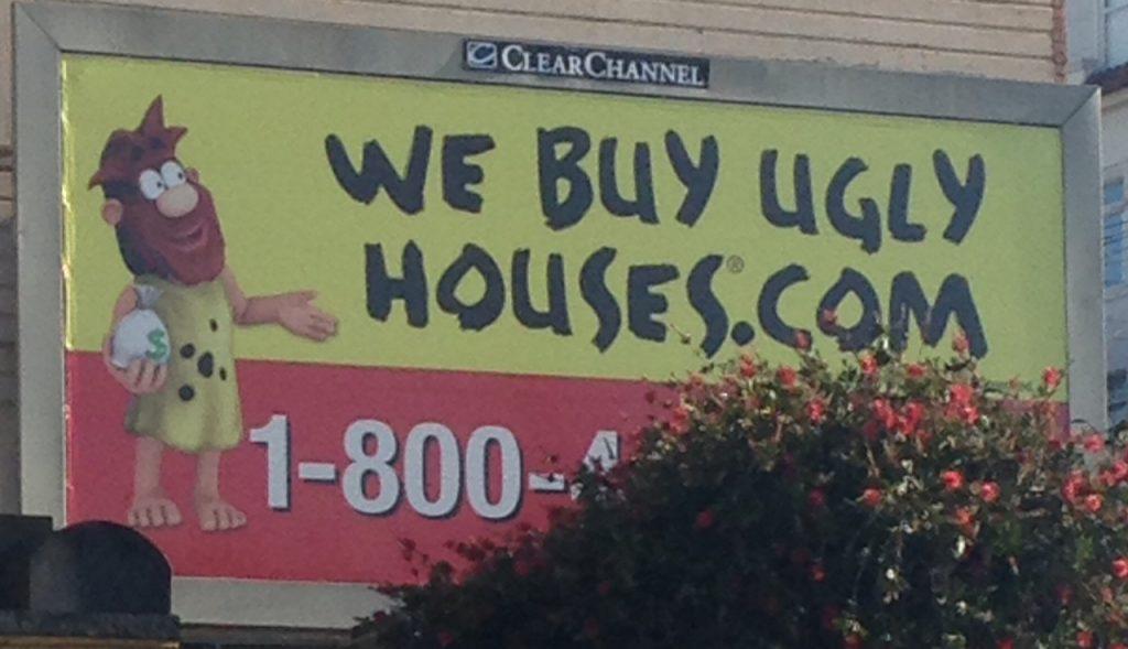 ugly house sign- irenediamond