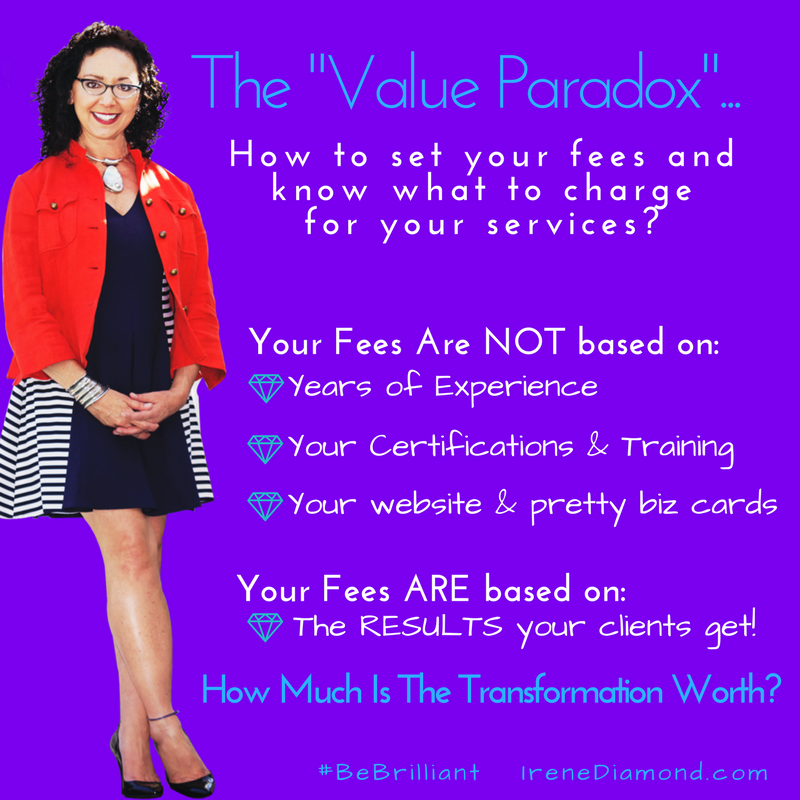 Value Paradox-IreneDiamond.com