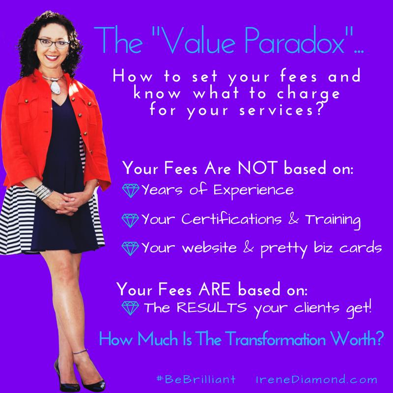 Value Paradox-IreneDiamond.com