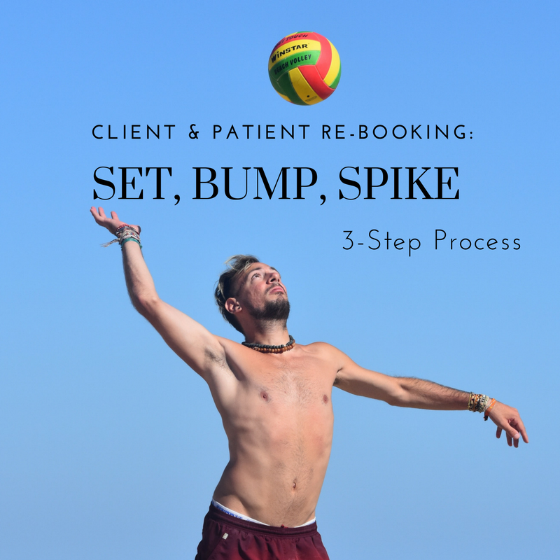 3-Step Client & Patient Re-Booking System